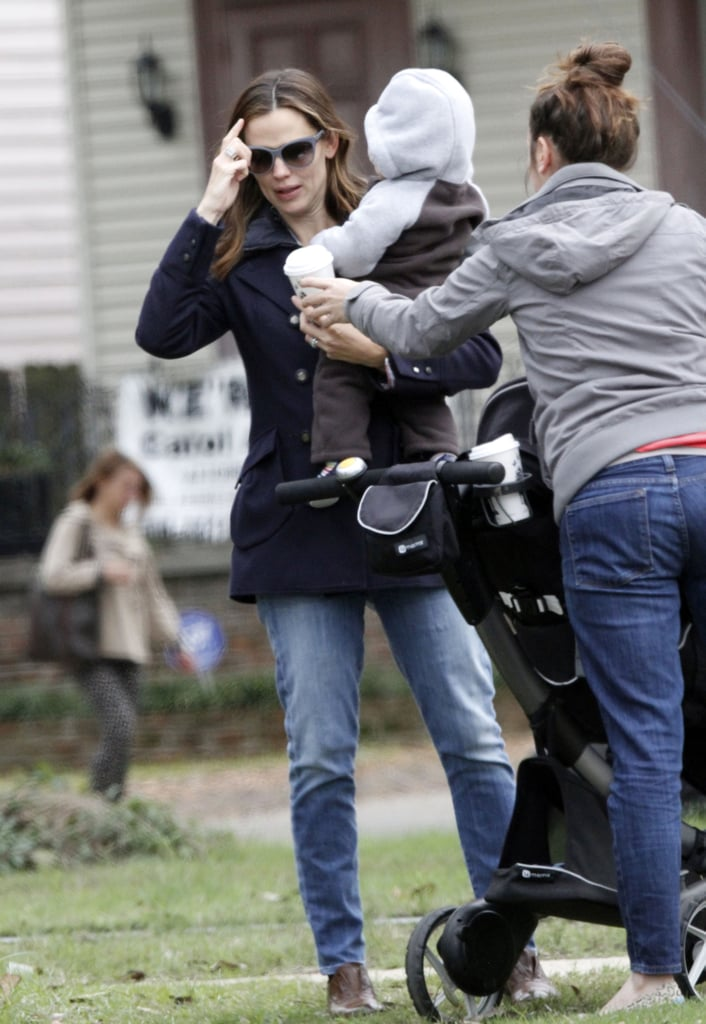 Jen and Samuel Hang in NOLA as Ben Preps to Costar With Kristen