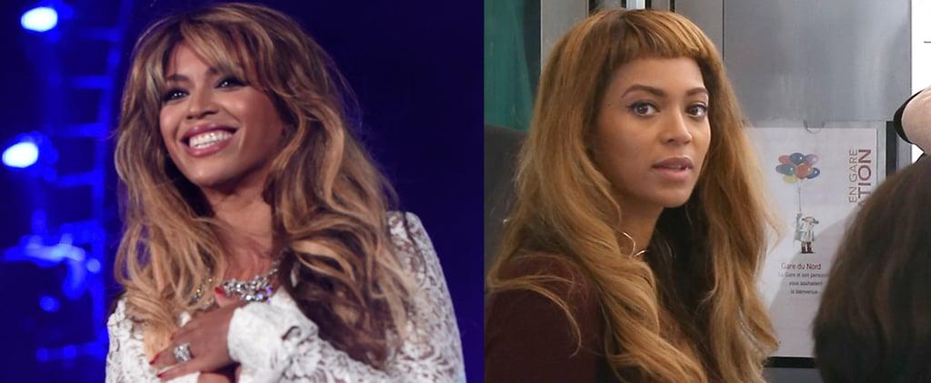 Did Blue Ivy Cut Beyoncé's Baby Bangs?