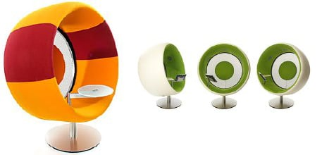 Totally Geeky or Geek Chic? Sonic Surround Chair