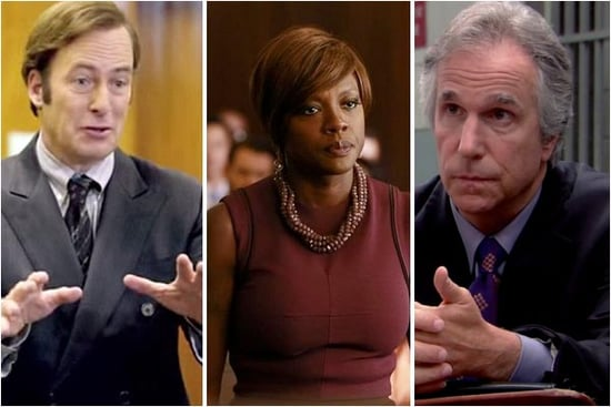 17 Top TV Lawyers We'd Want Representing Us in Court