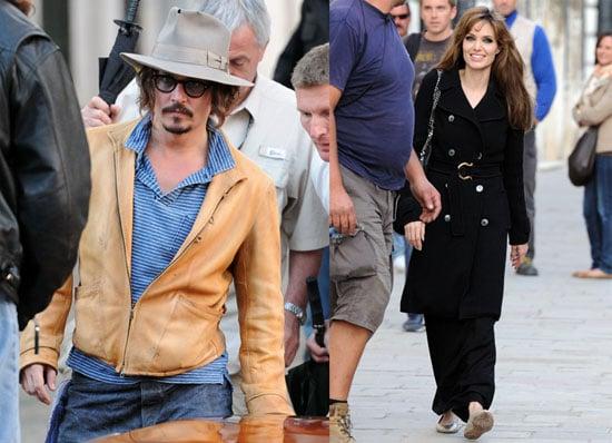 Photos of Johnny and Angelina