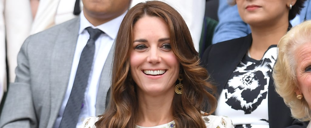 The Duchess of Cambridge Nearly Steals the Show at Wimbledon With Her Adorable Cheerleader Antics