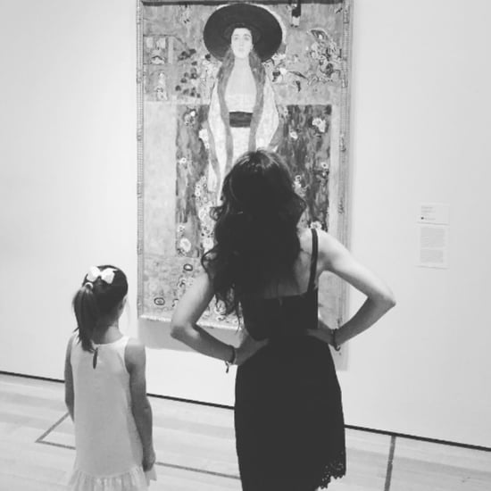 Katie Holmes and Suri Cruise Instagram Photo August 2016