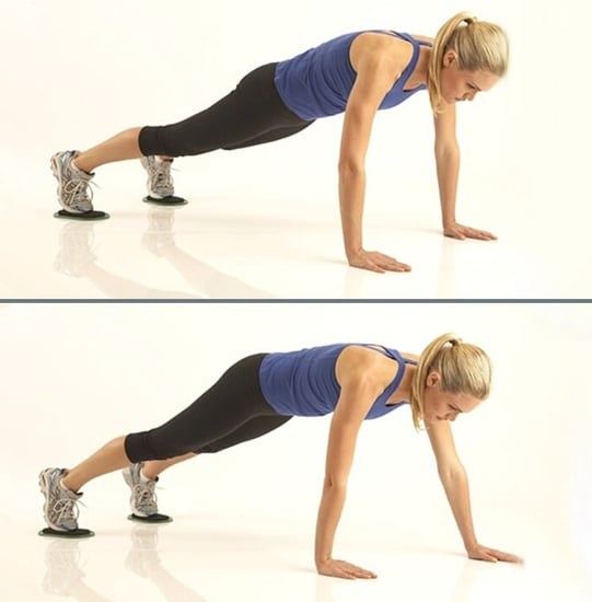 Poppy Montgomery Workout From Valerie Waters