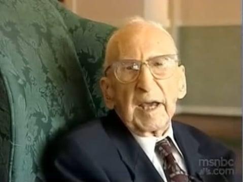 Practice Moderation Like World's Oldest Man