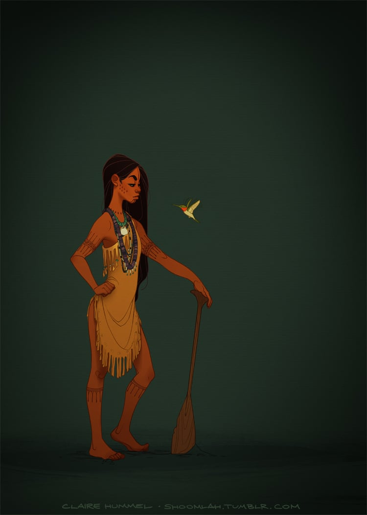Historical Pocahontas