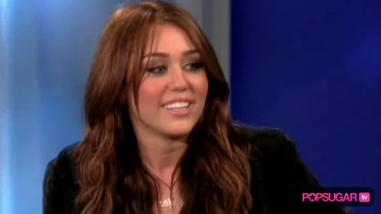 Miley Cyrus on The View