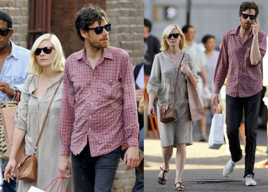 Pictures of Kirsten Dunst in NYC With Boyfriend Jason Boesel
