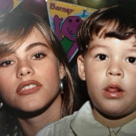 Sofia Vergara and Her Son Manolo in the '90s | Picture