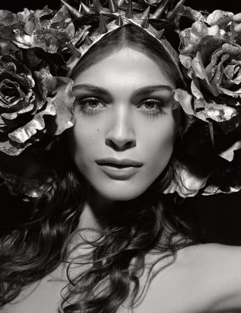 Photos of Karl Lagerfeld's 2011 Pirelli Calendar with Julianne Moore, Baptiste Giabiconi, Erin Wasson, and More