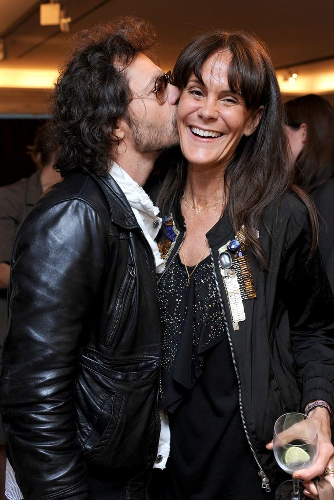 Olivier Zahm and Julie Gilhart