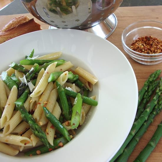 Today's Special:  Penne with Asparagus and Spring Herbs