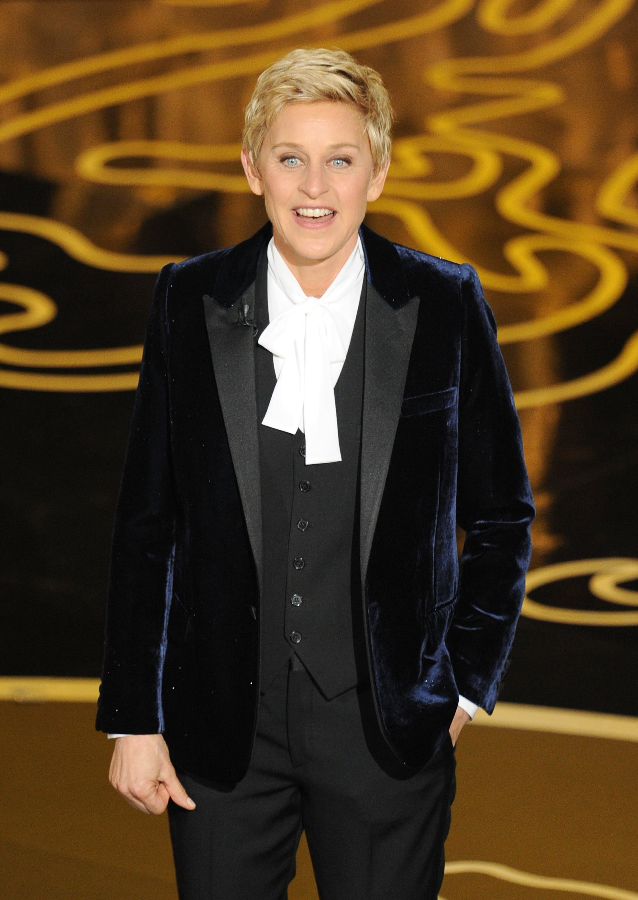 For Ellen, Selfies and Scare Tactics Always Come First