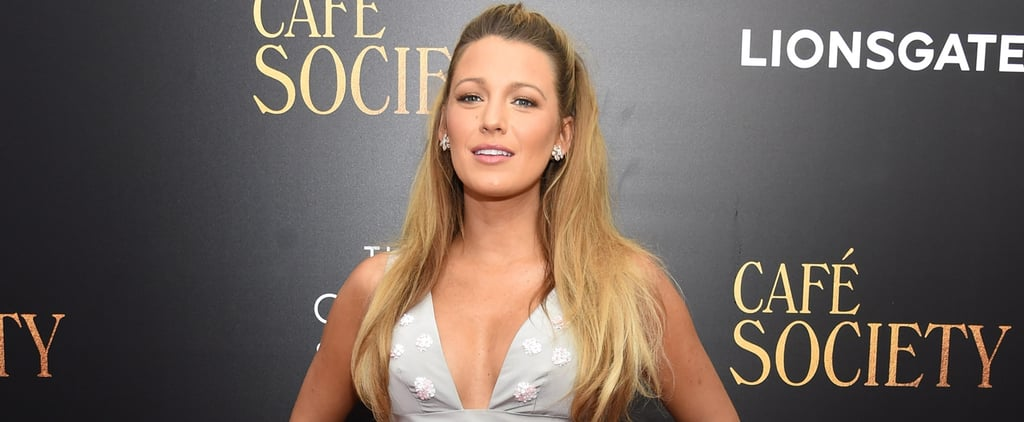 Blake Lively's Custom Mini Dress Was Made For Showing Off a Baby Bump