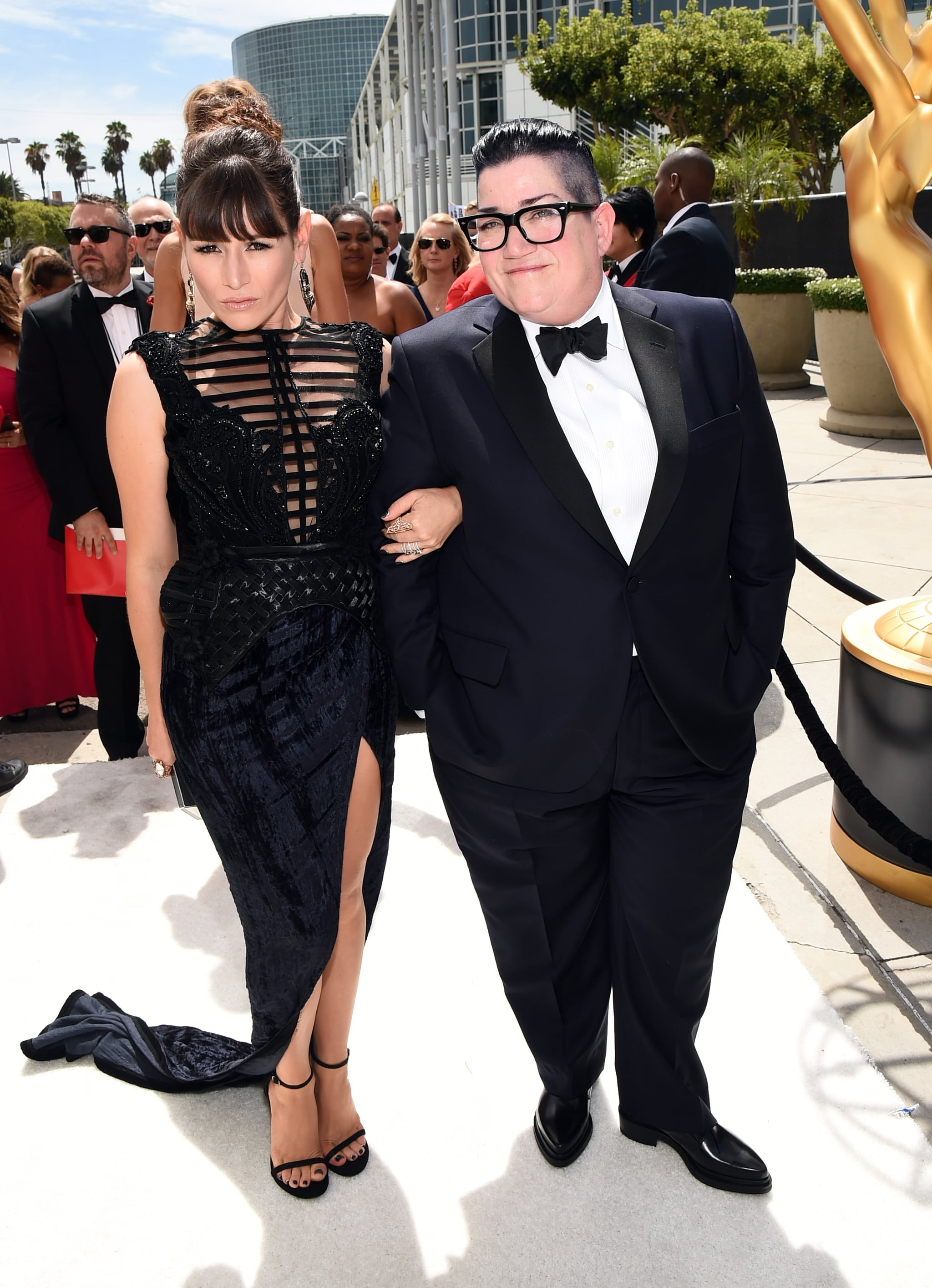 Yael Stone and Lea Delaria