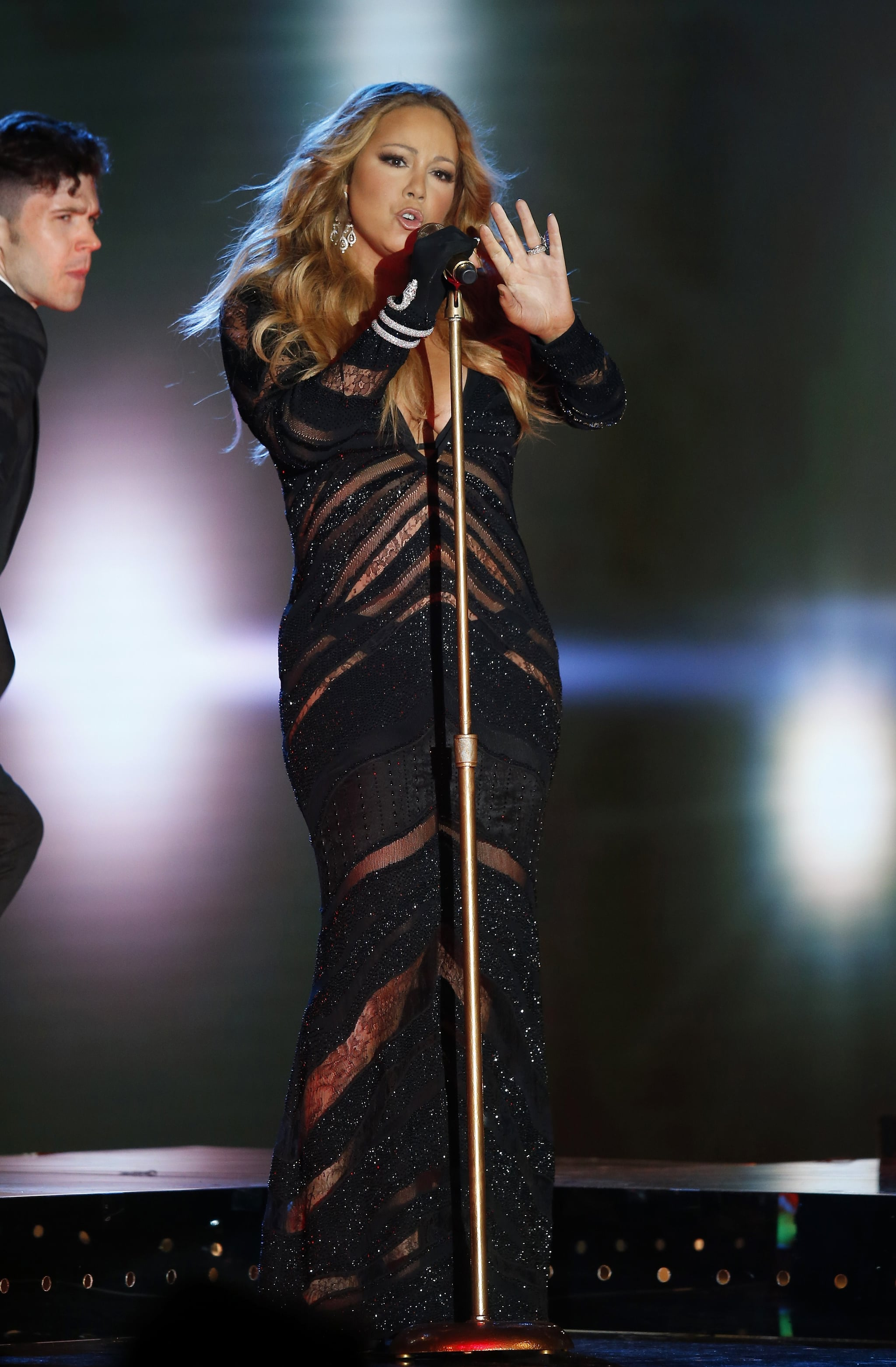 Mariah brought her signature sex appeal to the award show.