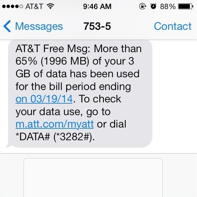Using 65 Percent of Your Data in Four Days
