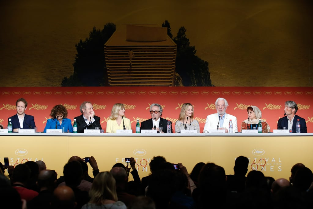 A Press Conference at Cannes