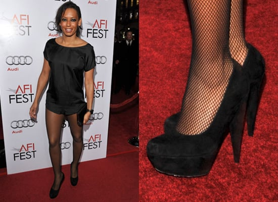 Photos of Mel B on the Red Carpet at Bad Lieutenant Premiere in London