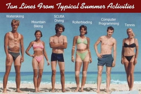 Tan Lines Are More Revealing Than You Think