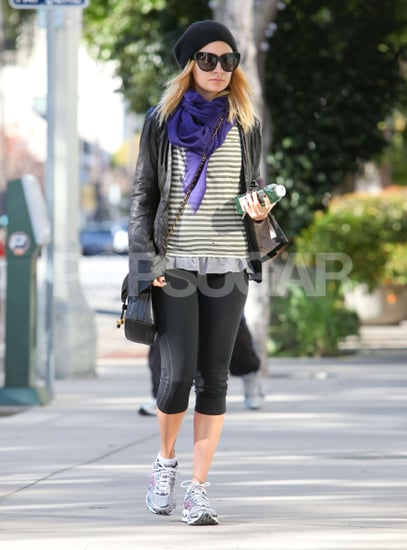 Pictures of Nicole Richie Arriving at the Gym in LA