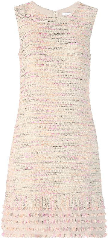 DVF Merlyn Tweed Shift Dress ($598)