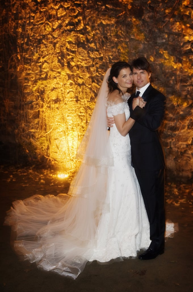 Tom Cruise and Katie Holmes tied the knot in Italy in November 2006.