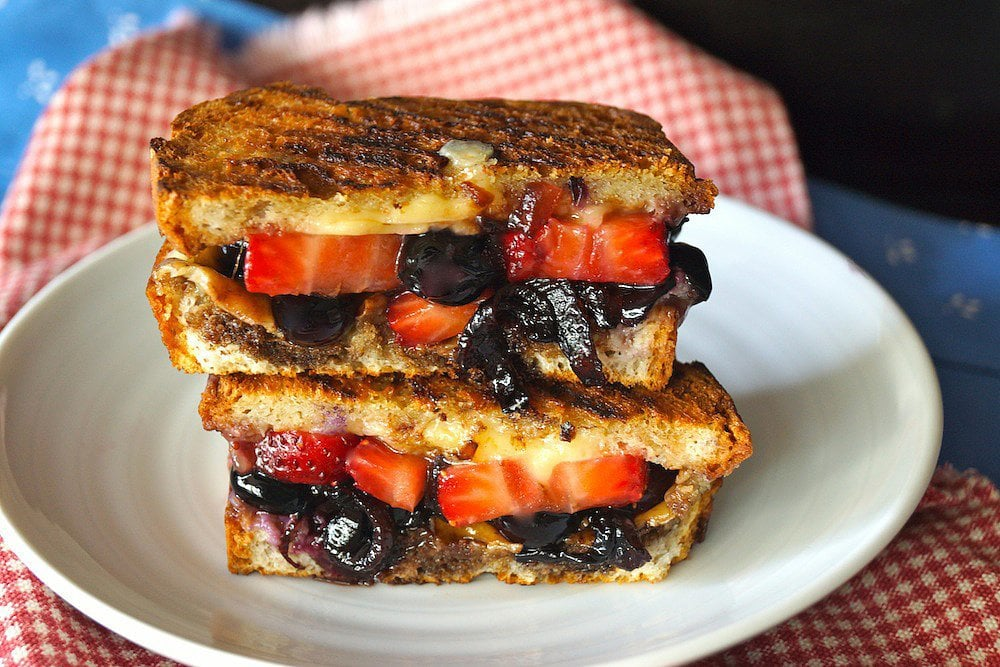 Berry Grilled Cheese