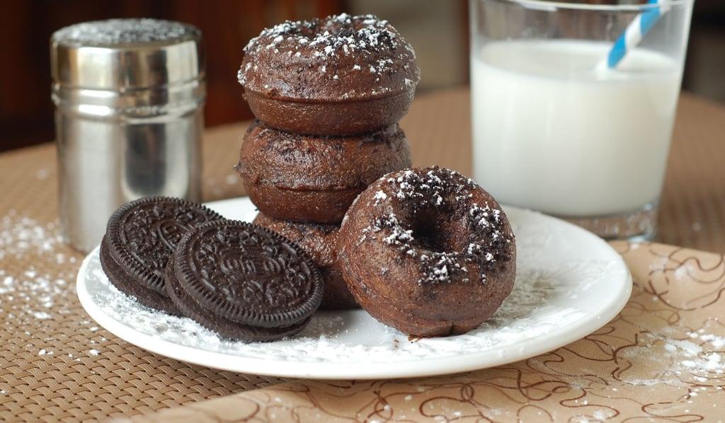 Chocolate Oreo Doughnuts