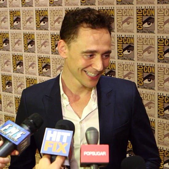 Tom Hiddleston Interview For Thor 2 at Comic-Con