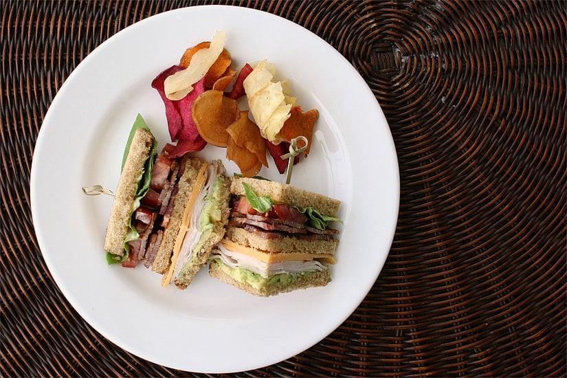 Turkey Club Sandwiches