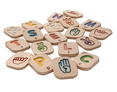 PlanToys Hand Sign Alphabet