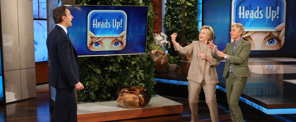 Tony Goldwyn and Hillary Clinton Playing Heads Up Is Like Your Parents on Game Night