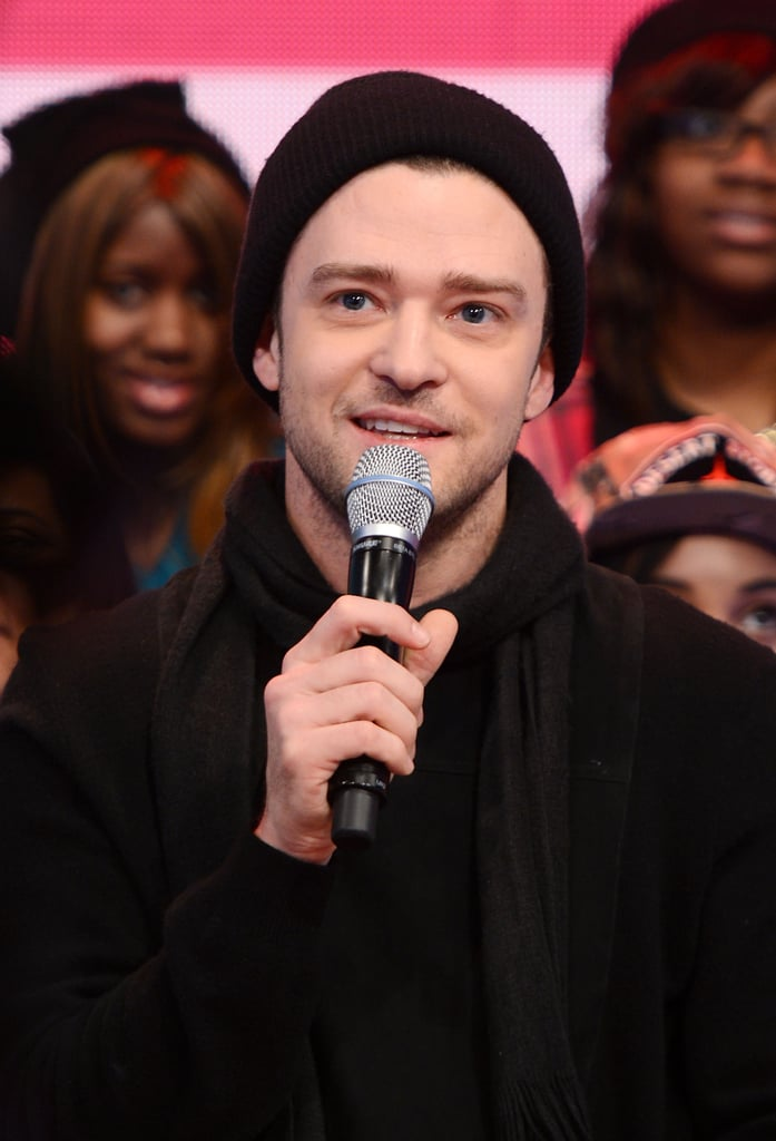Justin Timberlake visited BET's 106 and Park.