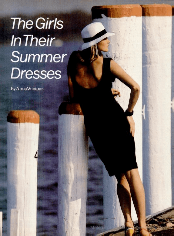 June 1982: The Girls in Their Summer Dresses
