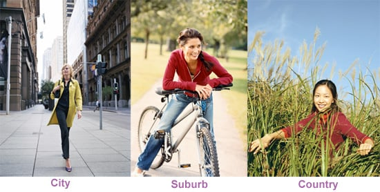Do You Prefer the City, Suburb, or Country?