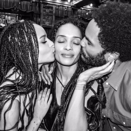 Lenny Kravitz Shares Photo With Lisa Bonet and Zoe Kravitz