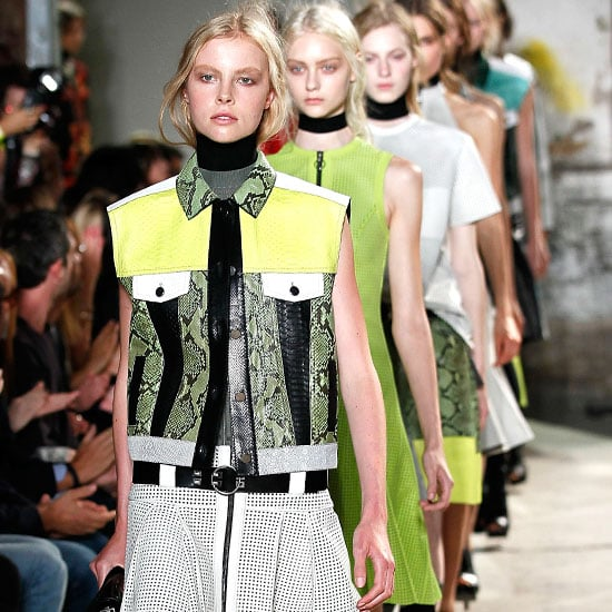 Pictures and Review of Proenza Schouler Spring Summer New York Fashion Week Runway Show