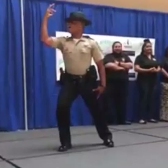 "Police Officer Dancing to ""Formation"" Video"