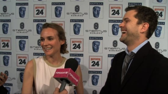 Diane Kruger and Joshua Jackson on the Red Carpet 2010-01-18 12:00:00