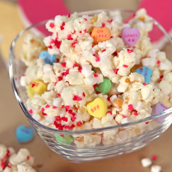 Sweetheart White Chocolate Popcorn