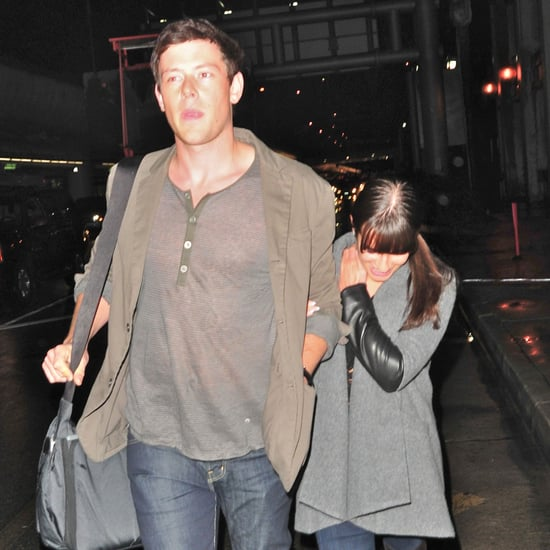 Lea Michele and Cory Monteith Together in LA Pictures