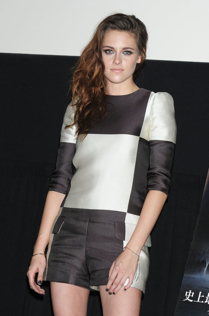Kristen Stewart was in Japan for Breaking Dawn Part 2.