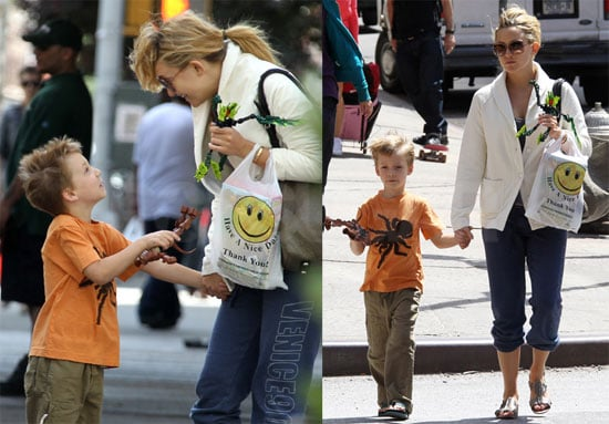Pictures of Kate Hudson and Ryder Robinson Together in NYC