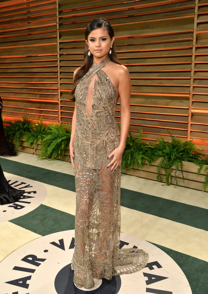 Selena Gomez at the 2014 Vanity Fair Oscars Party