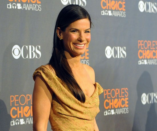 Slide Photo of Sandra Bullock on the Red Carpet at the People's Choice Awards