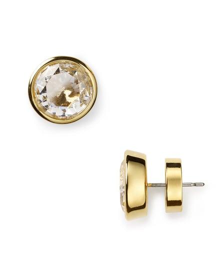 MICHAEL Michael Kors Large Gold Stud Earrings - Jewelry & Accessories - Bloomingdale's