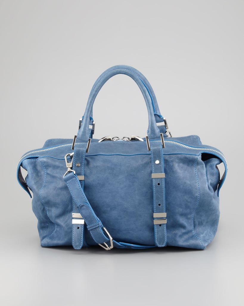 There's something denim-like about Rachel Zoe's washed-out tote ($495) that makes it the perfect match for Summer's laid-back wardrobe. The generous size makes it a good all-day pick, too, with space for work essentials and gym togs for after.
