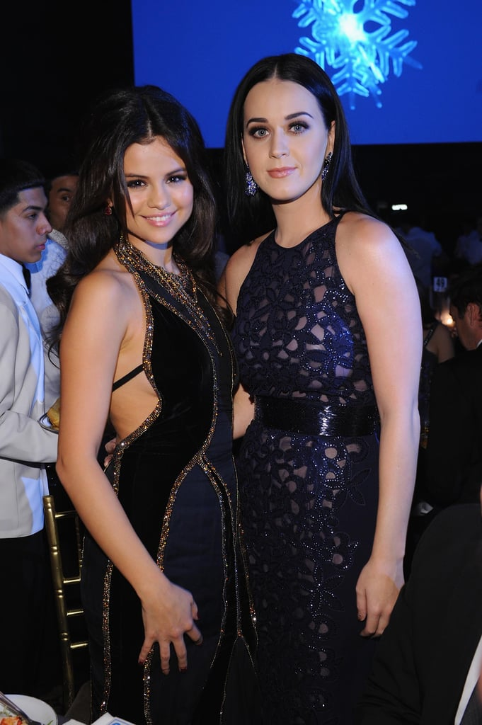 Selena Gomez and Katy Perry posed for photos at the NYC event.
