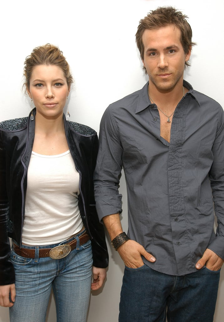 When He Visited TRL With Jessica Biel in 2004